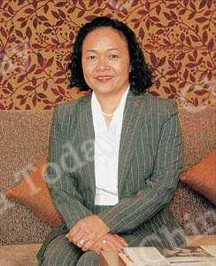 Barbara Leung Maradik, head of marketing for the Beijing Financial Street Intercontinental Hotel.